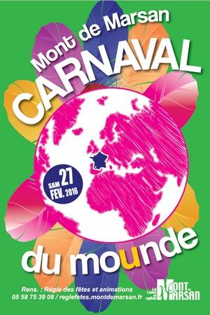 image : Affiche du carnaval - Mont de Marsan