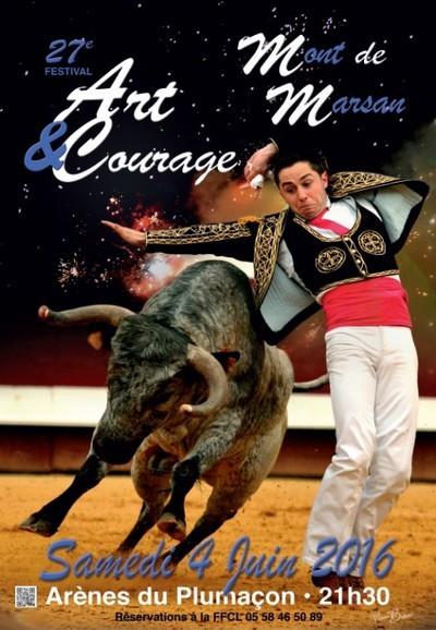 image-lien : affiche et lien vers page art et courage à Mont de Marsan