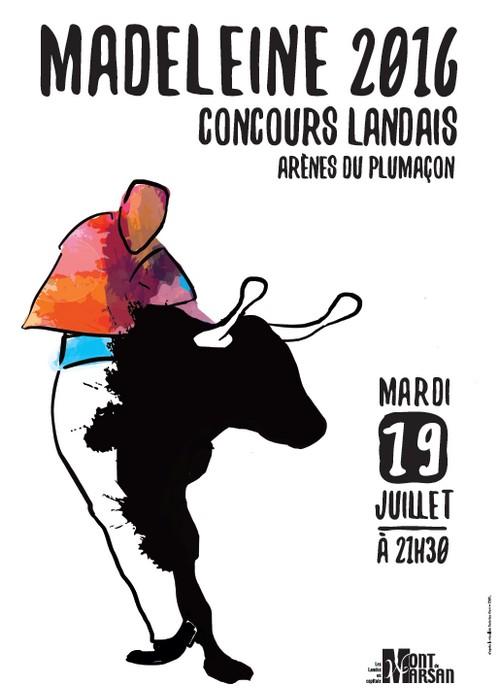 image : Concours landais - Madeleine 2016