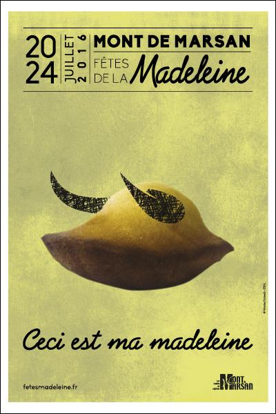 image : affiche Madeleine 2016