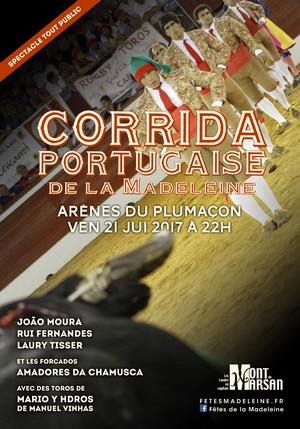 image : Corrida portugaise - Madeleine 2017
