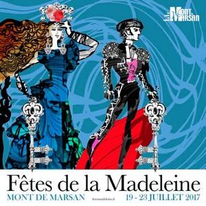 image : Couverture programme des fêtes de la Madeleine 2017 - Visuel Christian Lacroix