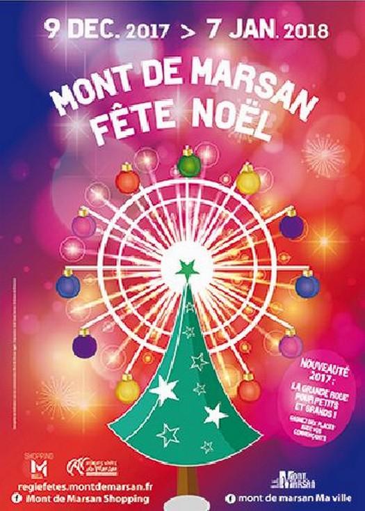 image-lien : affiche et lien vers page Noël à Mont de Marsan 2017