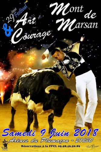 image : Affiche Art et courage 2018 - Mont de Marsan