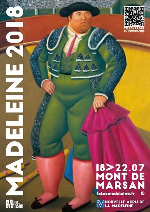 image : Couverture programme des fêtes de la Madeleine 2018