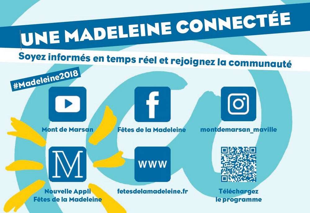 image : Pictogrammes Madeleine connectée