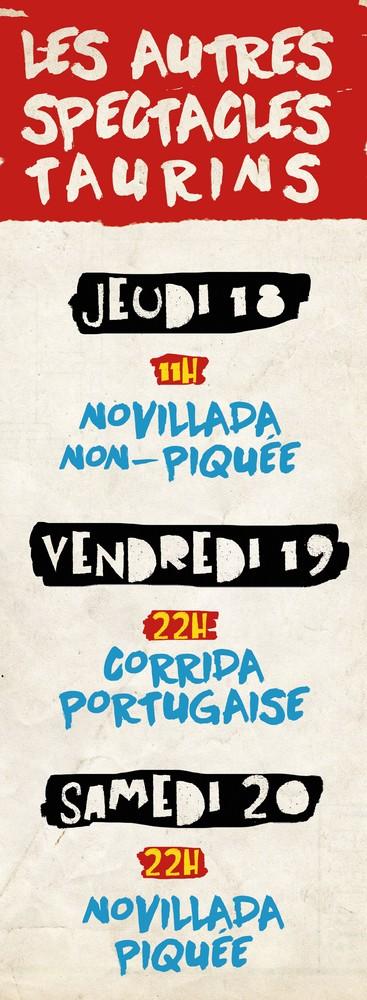 image : bache Madeleine 2019 - Autres spectacles taurins - Novilladas et Portugaise