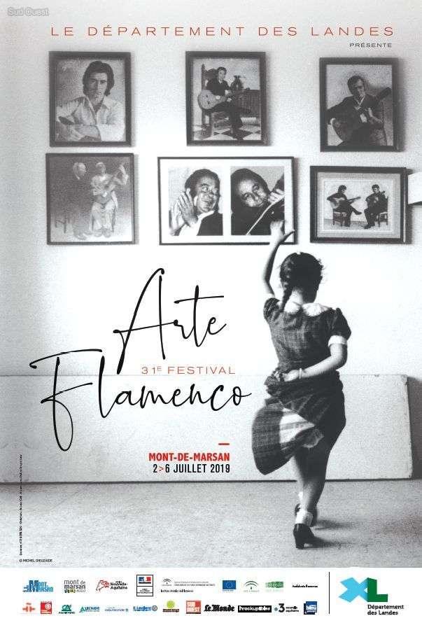 image : Affiche Arte Flamenco 2019 - Mont de Marsan