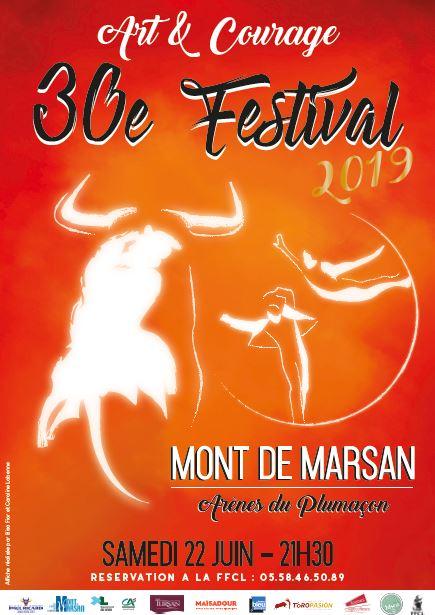 image : Affiche Art et courage 2019 - Mont de Marsan