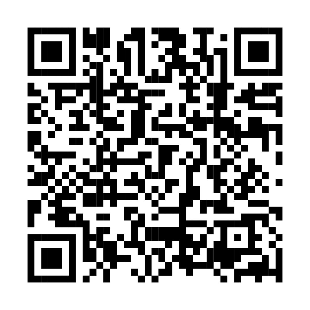 image : QRcode du programme epub des fêtes de la Madeleiene 2019