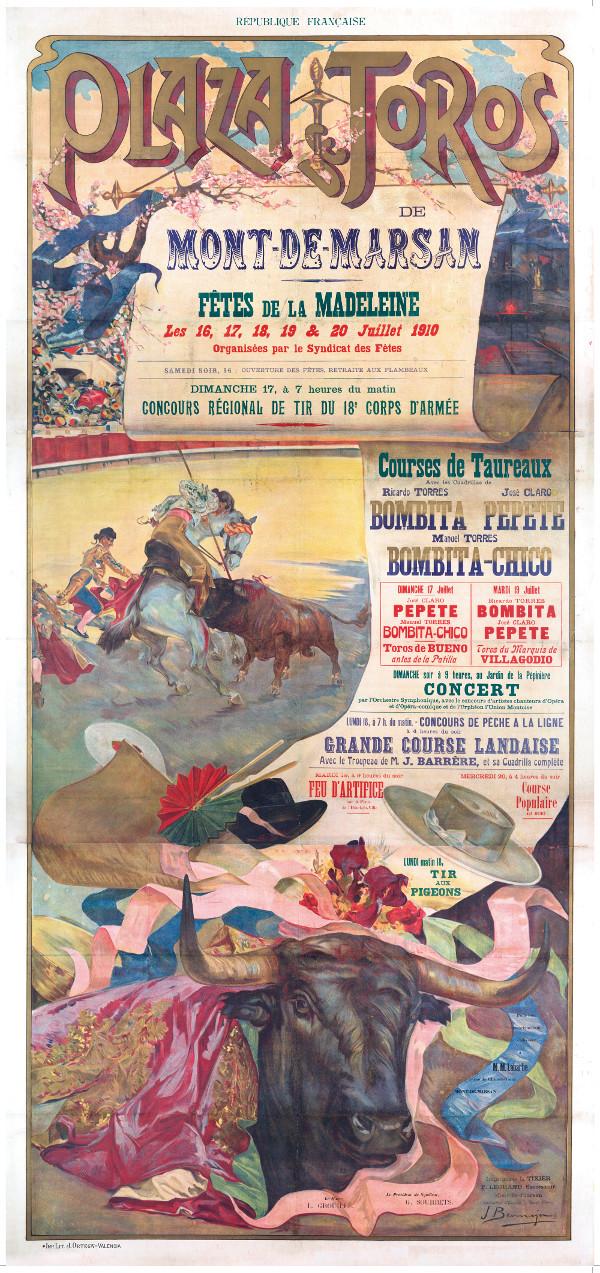 image : Affiche de 1910