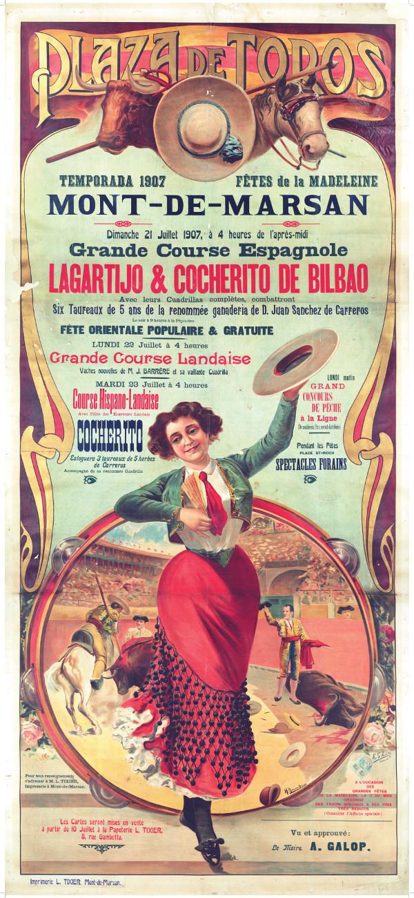 image : Affiche de 1907