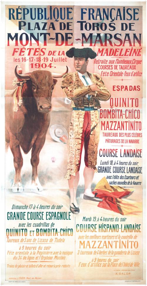 image : Affiche 1904