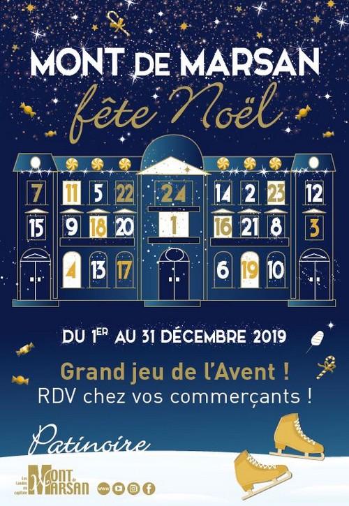 image : Affiche Noël 2019 à Mont de Marsan