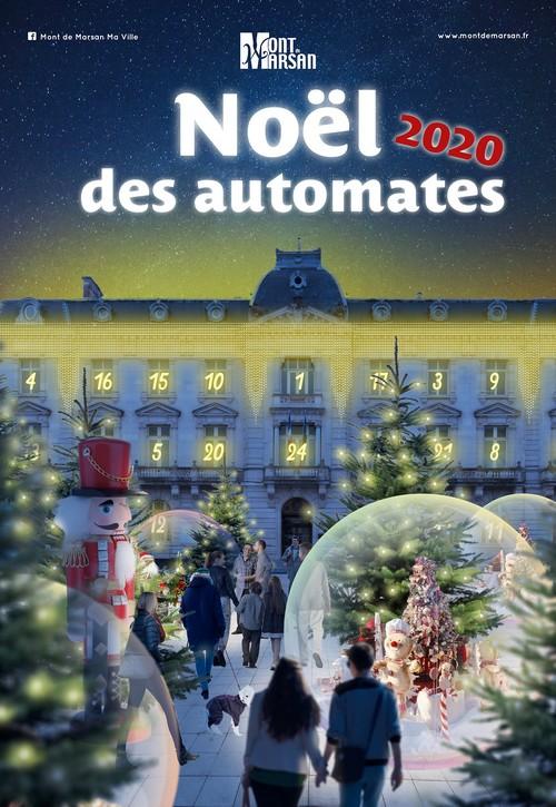 image : Affiche Noël 2020 à Mont de Marsan