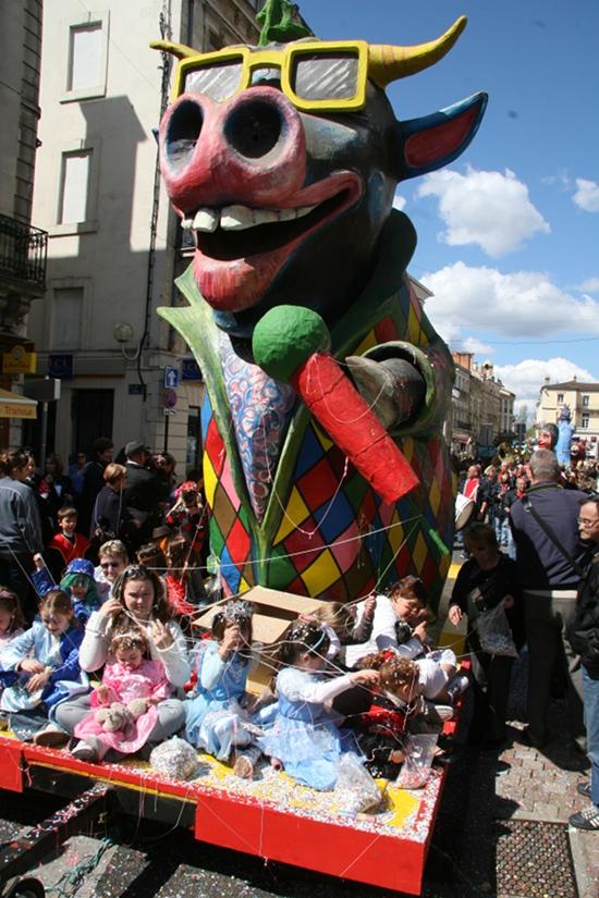 regie des fetes ville de mont de marsan fetes de la madeleine carnaval 2009