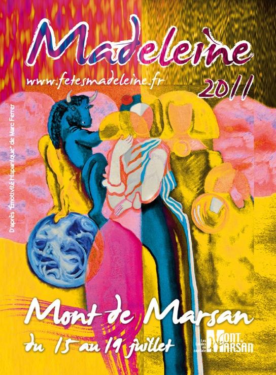 regie des fetes ville de mont de marsan fetes de la madeleine r 233 tro madeleine 2011